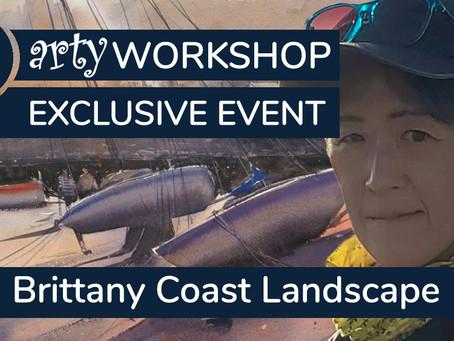 Workshop: Brittany Coast Landscape with Keiko Tanabe