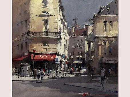 Painting the light in Paris with Vladislav Yeliseyev