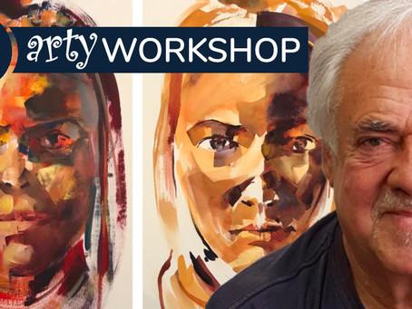 Workshop: A Portrait Study in Watercolour & Acrylic with Derric Van Rensburg