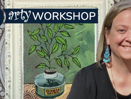 Workshop: Mixed Media Magic with Brooke Richards
