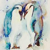 Negative Spaces, Patterns & Penguins