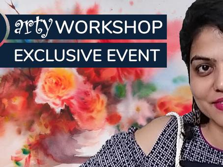 Workshop: Still Life Florals with Megha Kapoor