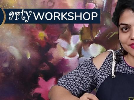 Workshop: Orchid arrangement with Megha Kapoor