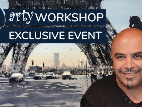 Workshop: Morning light in Paris with Amid El Haddad