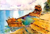 Paint a Shipwreck