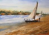 A Coastal Scene in Ceará State