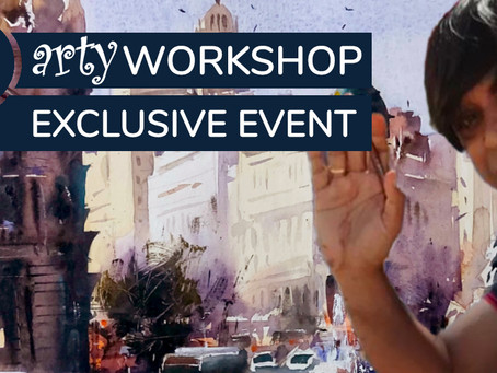 Workshop: Impressionist Style Cityscape with Amit Kapoor