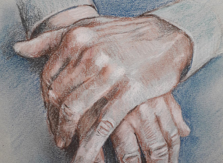 Hands in Pastel Pencil with Carole Massey