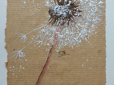 A 'Moment in Time' Dandelion with Jane Betteridge
