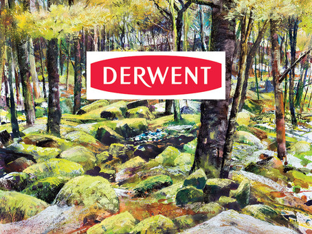 Create Expressive Rocks and Trees with Robert Dutton and Derwent Inktense