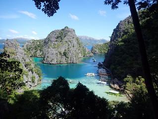 傑米菲律賓科隆潛水陸游行