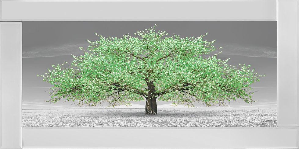 Cherry Blossom Tree Green