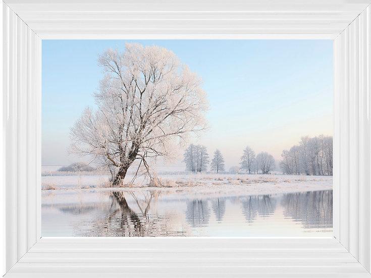 Crystal Snow Tree