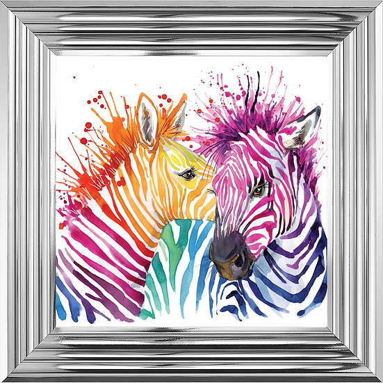 Colourful Zebras