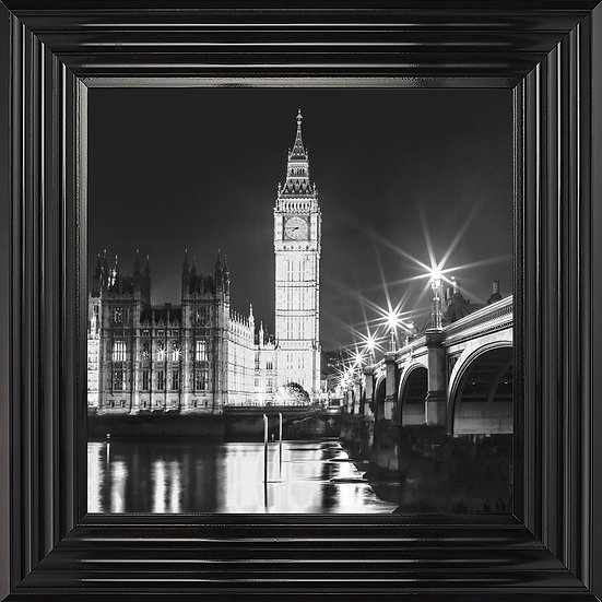 Night time at Westminster