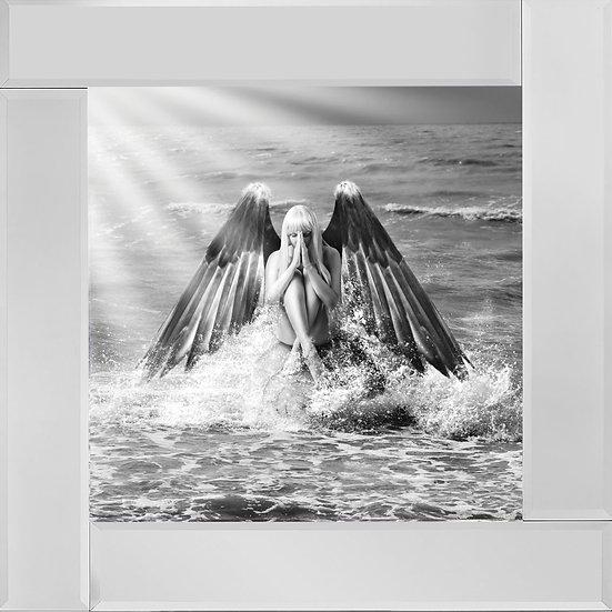 Ocean Angel in Black and White