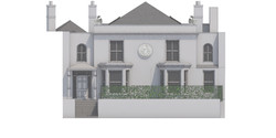 19-1106 Proposed Main house Front elevat