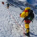 Trevor Stuart on Mt Everest