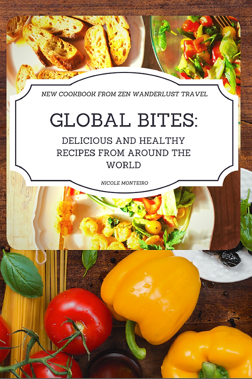 Ebook -Global Bites: Delicious and Healthy Recipes from Around the World - ebook
