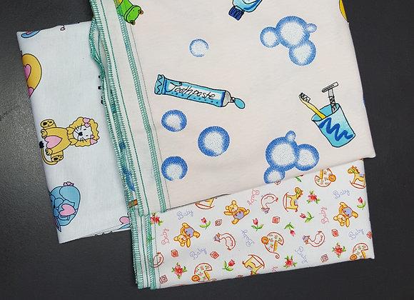 Baby Burp Cloths  3/pk