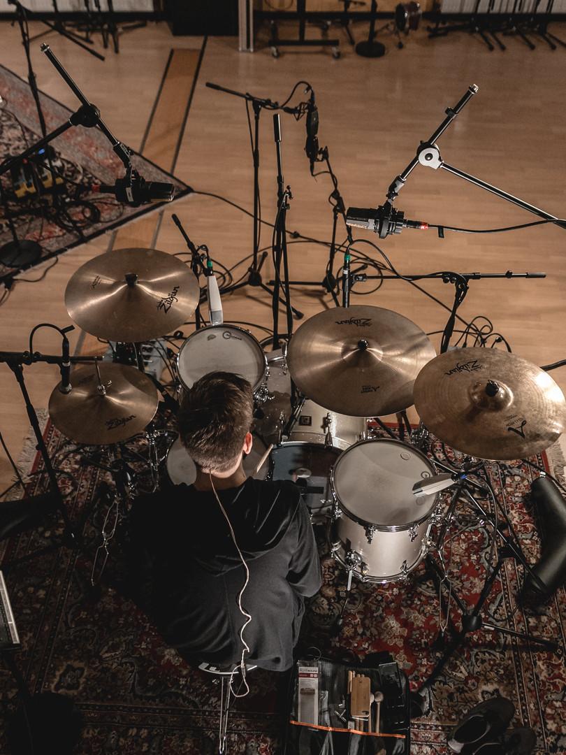 Recording at Watt Matters Studio