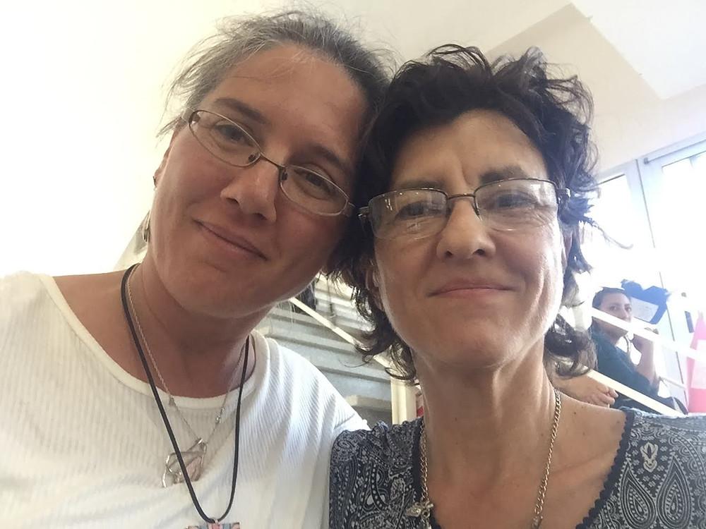 Con la Dra. Susana Gómez (PROPALE- CIFFyH-UNC)