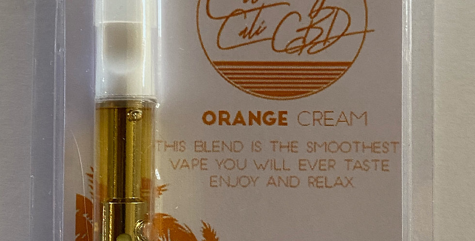 Orange Cream CBD Vape Cartridge