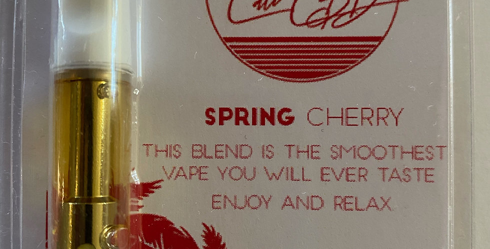 Spring Cherry CBD Vape Cartridge