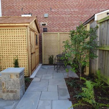 Detailed carpentry and masonry