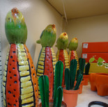 Cacti statues