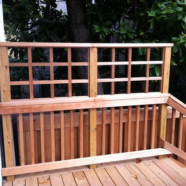 Skilled and detailed carpentry work