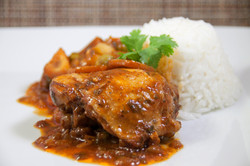 Chicken stew, peruvian estofado