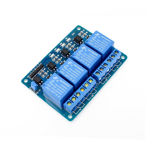 Relay Module - 4 Channel 12V Relay Board 12 Volt - opto Isolated input