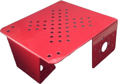 Robot METAL CHASSIS - RED COLOR