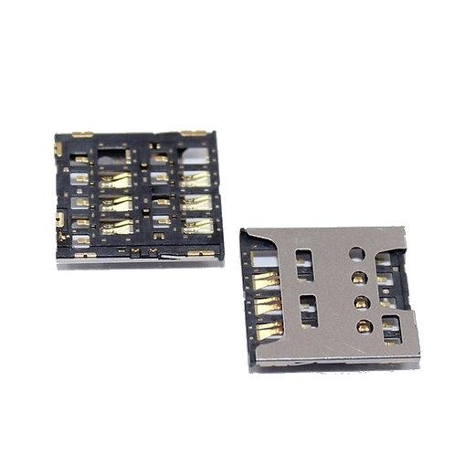 Micro Sim Card Holder Connector Socket Case Tray Slot 6 Pin Sim Card Holder