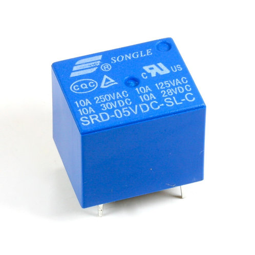 5V Relay 10A PCB Mount Sugar Cube SPDT Relay Switch