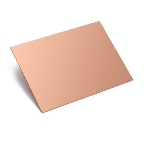 PCB Board Copper Clad PcbBoard single side (Sided)-3x4 inch-Set of 1