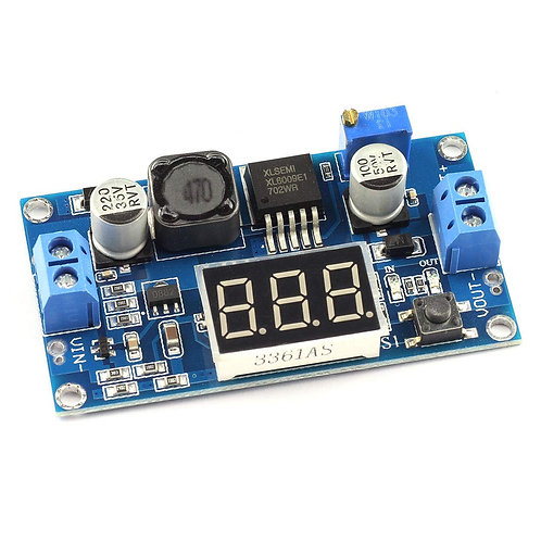 DC-DC Boost Converter (XL-6009) with Display
