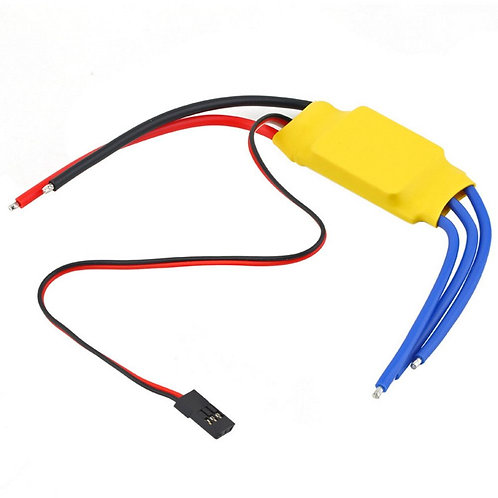 30A BLDC ESC Electronic Speed Controller with Connector - BLDC Driver
