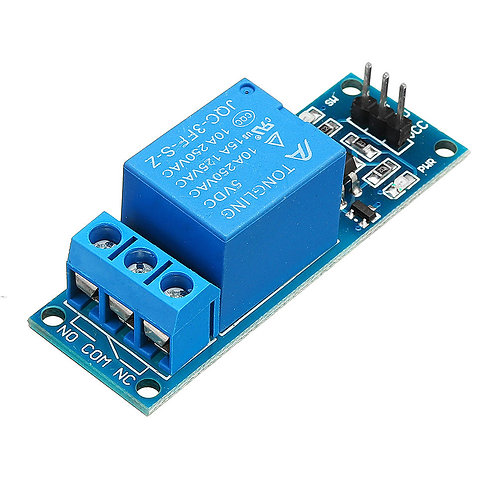 Relay Module - 1 Channel 5V Relay Board 5 Volt - opto Isolated Input