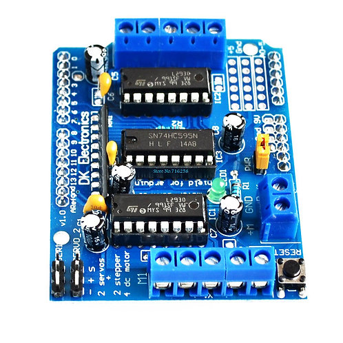 Motor Driver L293D - Shield Expansion Board for Arduino UNO MEGA DUE (L 293D)