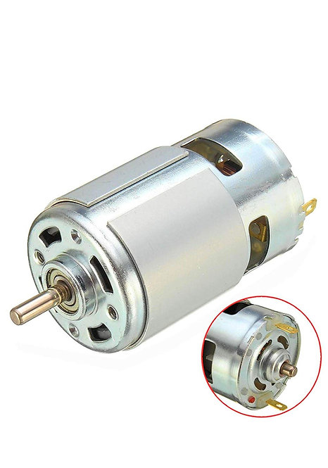 12 Volt DC Motor - Multipurpose Brushed Motor For DIY Projects Applications - 12