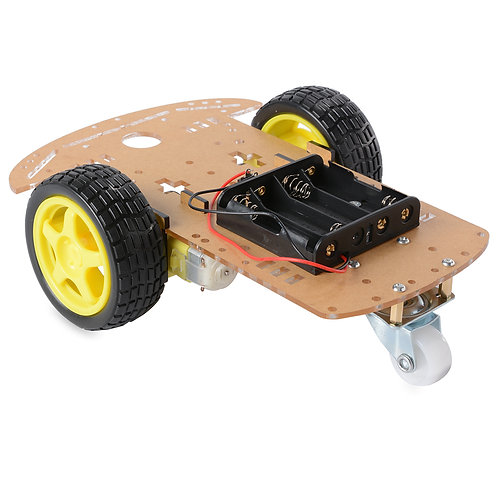2 Wheel Smart Car Robot Chassis Kit - 2WD DIY Smart Robotics Car Chessis kits wi