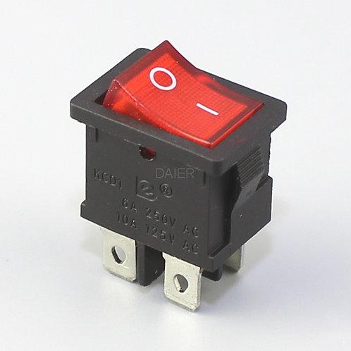DPDT ON-OFF Rocker Switch -for robotics -4 legs -4 amp