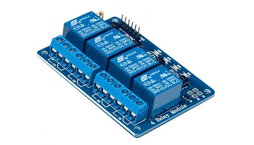 Relay Module - 4 Channel 5V Relay Board 5 Volt - Opto Isolated Input