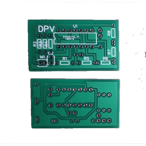 Automatic musical light pcb board