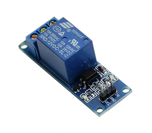 Relay Module - 1 Channel 12V Relay Board 12 Volt - Opto Isolated Input