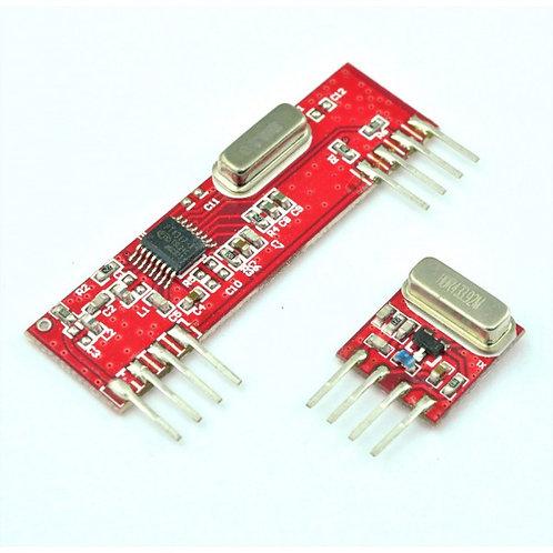 315Mhz RF Transmitter Receiver Module - Wireless ASK 315 Mhz Tx Rx pair
