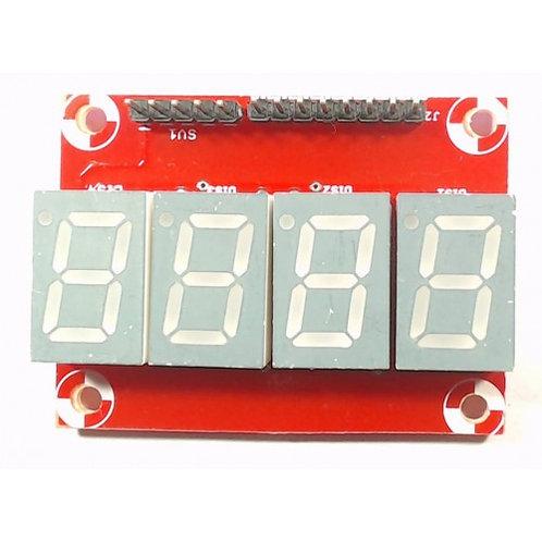 4 Digit Seven Segment Display Module Board Common Cathode