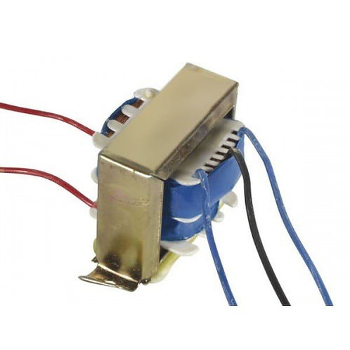 6 0 6V 500 mA Step Down centre tap Transformer 6-0-6 volt (230V to 6V)